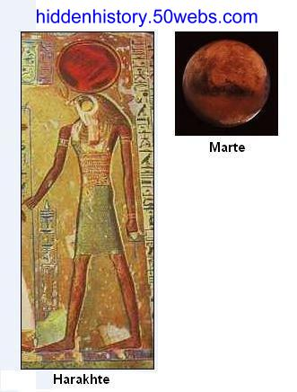 Harakhte and Mars.